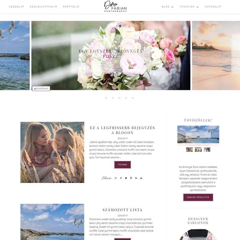 Wordpress Sablon Amistyle Webdesign