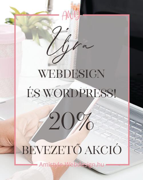Webdesign és WordPress Honlapkészítés