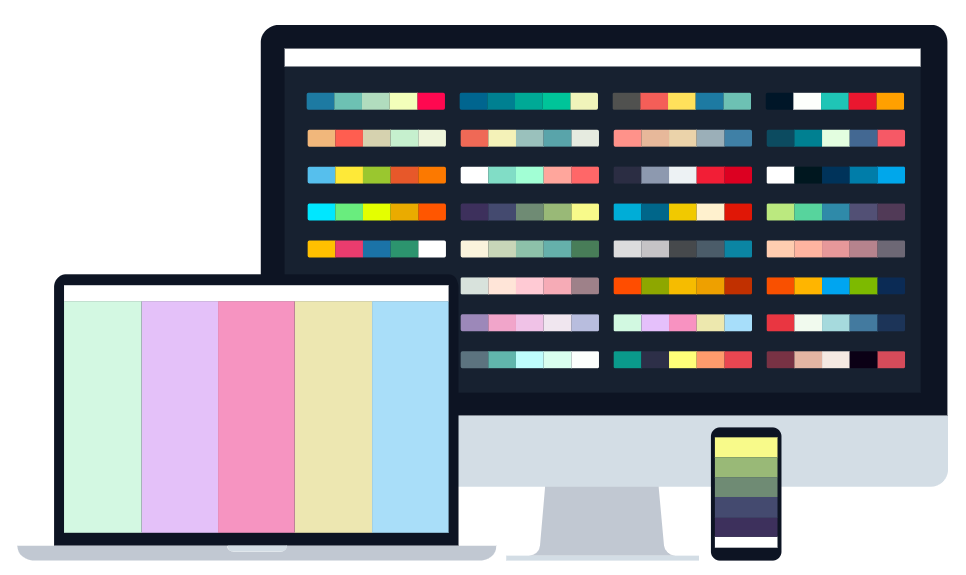 Webdesign készítés színgenerátor