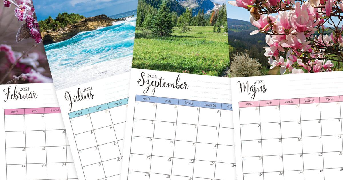 Letölthető-Nyomtatható 2021-es naptárcsomag