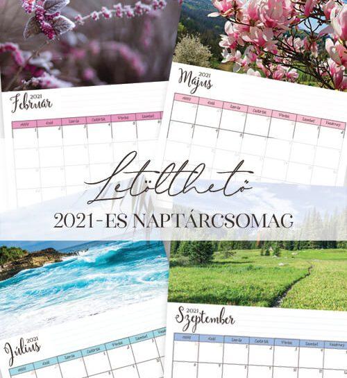 Ingyenesen letölthető naptár 2021